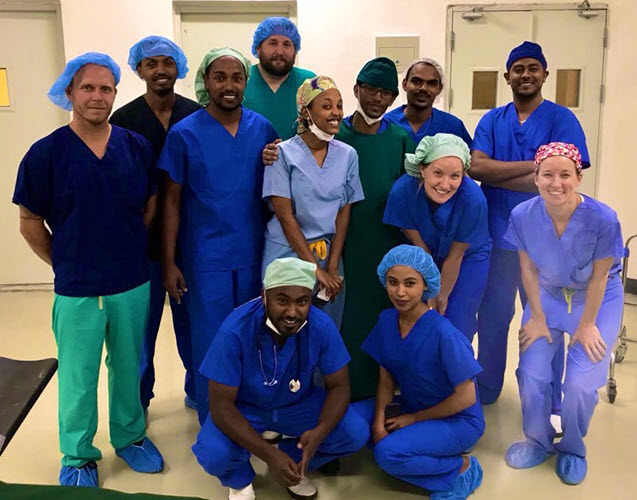 Safe Surgery Fellows Film Crew
